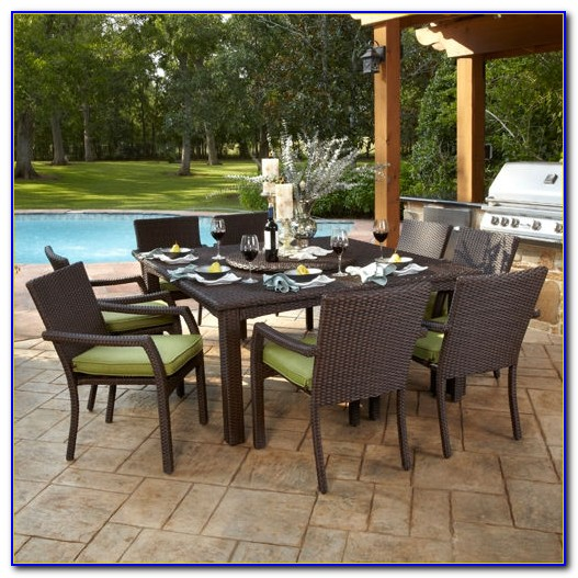 outdoor dining sets costco photo - 5