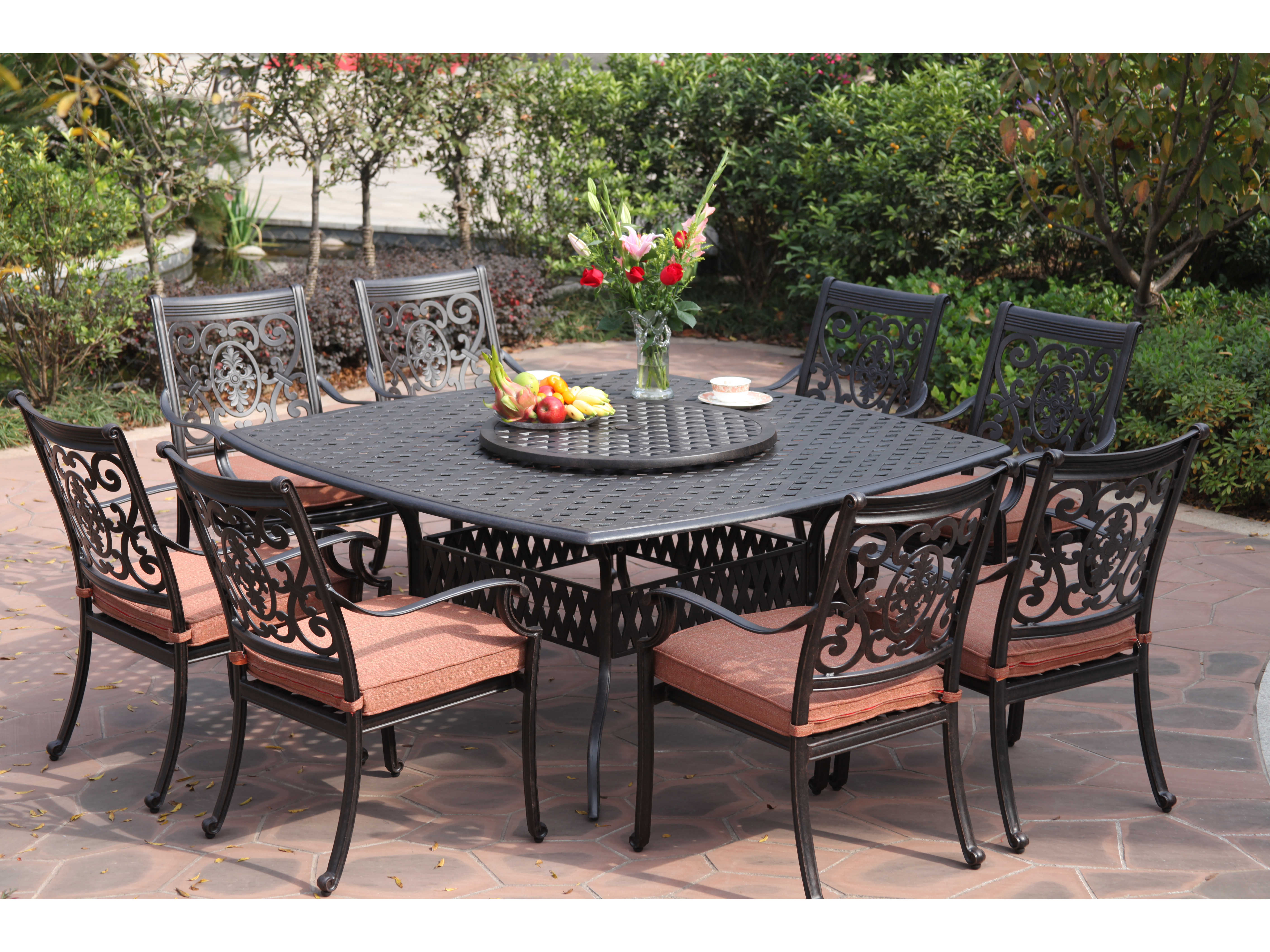 outdoor dining sets costco photo - 8