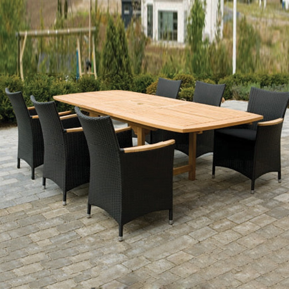 outdoor dining sets for 12 photo - 9