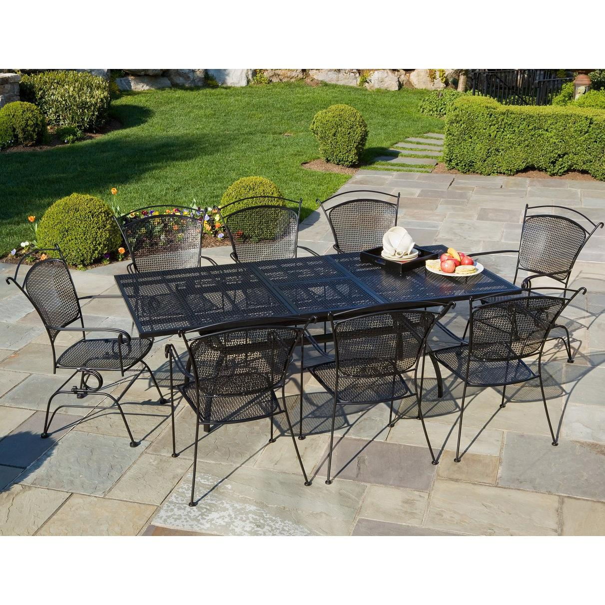 outdoor dining sets iron photo - 10