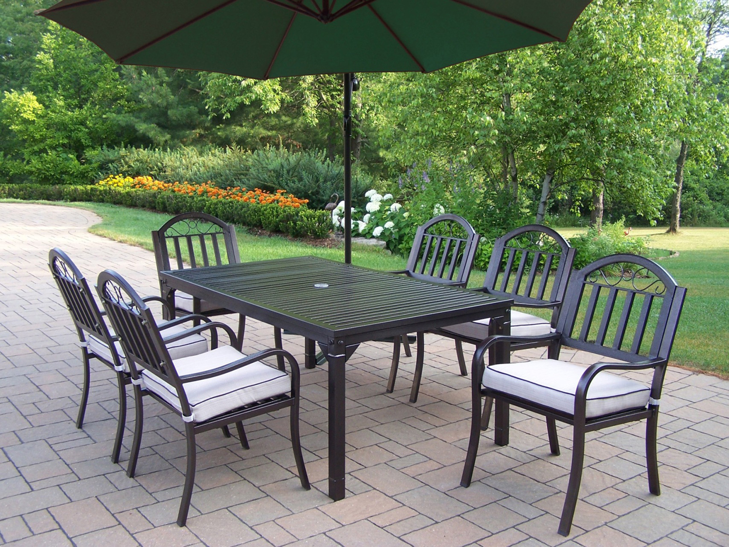 outdoor dining sets iron photo - 7