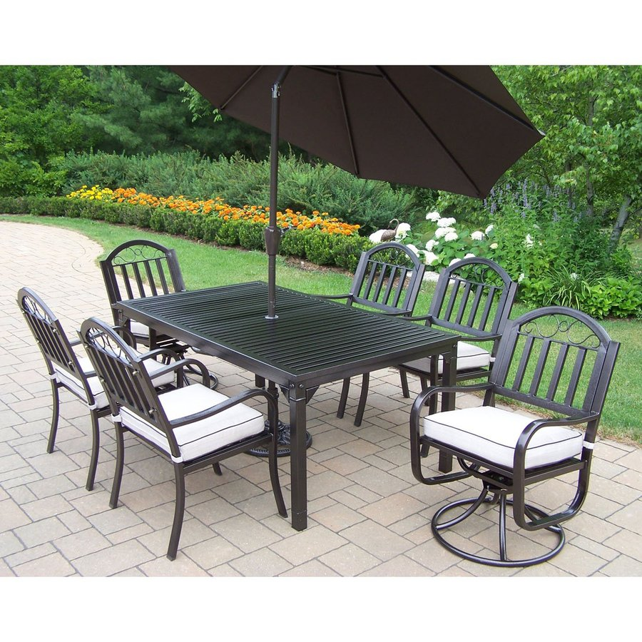 outdoor dining sets iron photo - 9