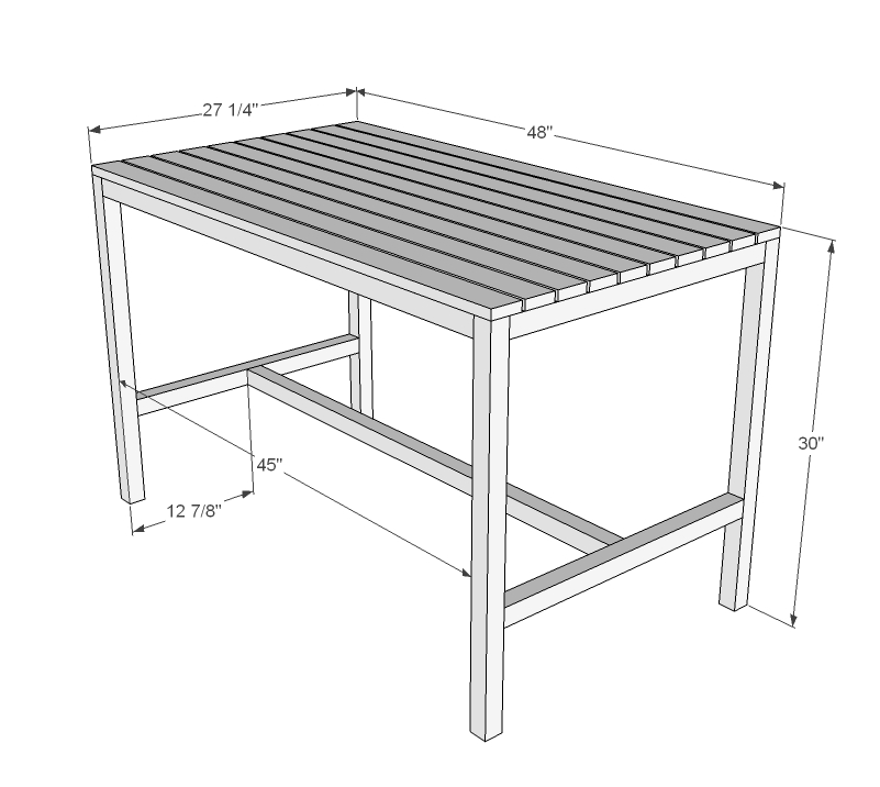 Bench Dining Table Dimensions: Outdoor Dining Table Dimensions