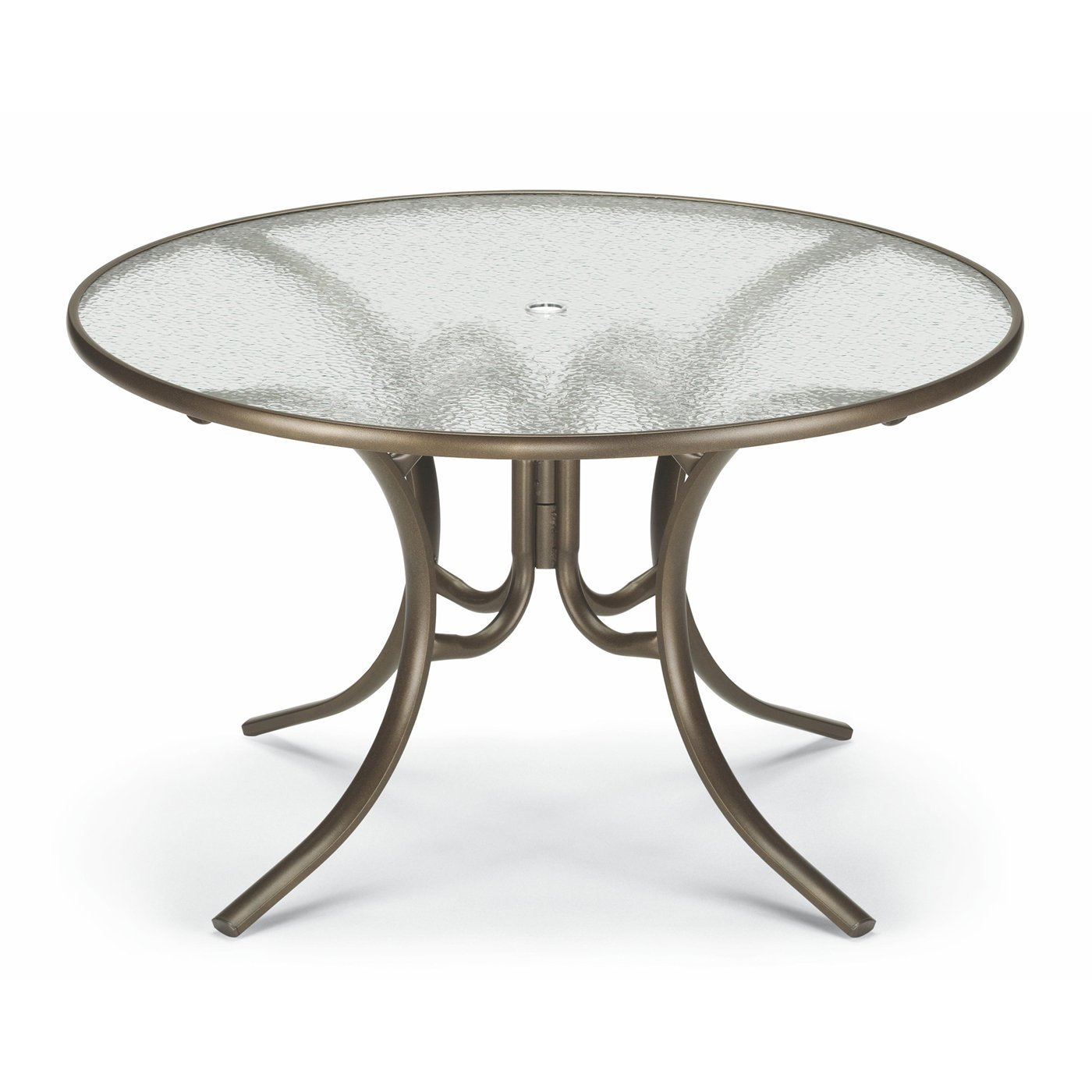 outdoor dining table glass photo - 3