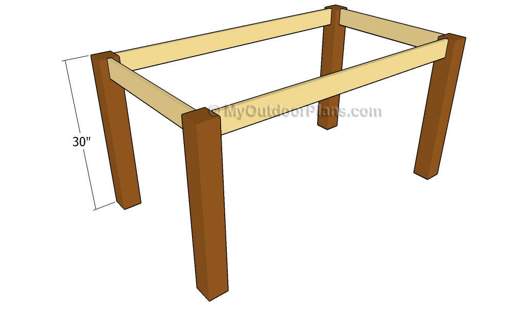 outdoor dining table plans photo - 6