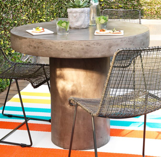 outdoor dining tables guide photo - 7
