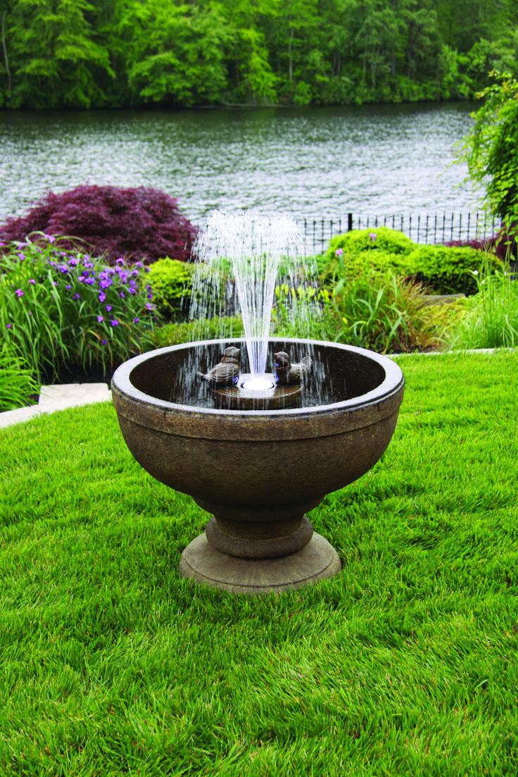 outdoor garden drinking fountain photo - 10