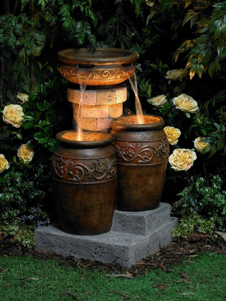 outdoor garden fountains photo - 10