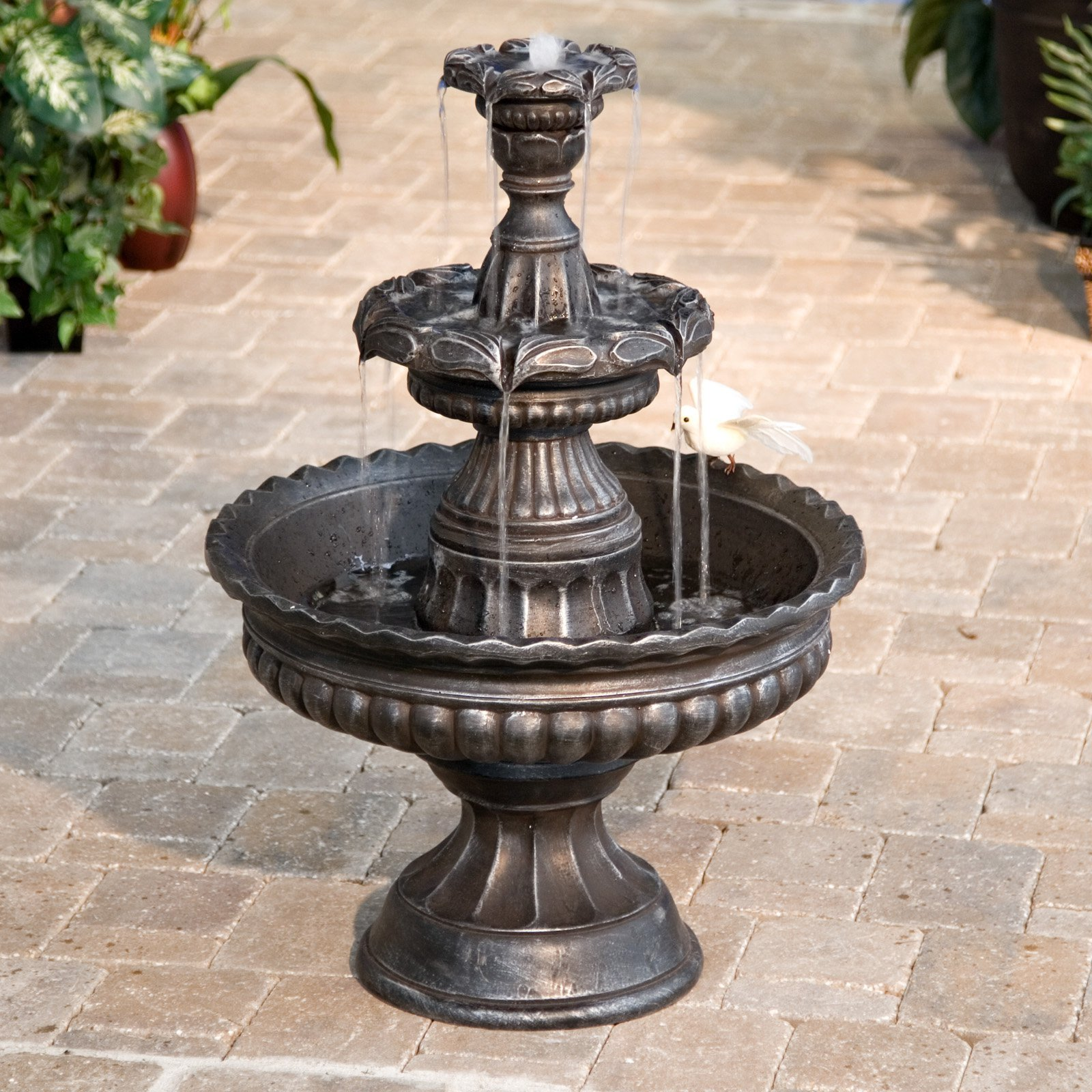 outdoor garden fountains photo - 2