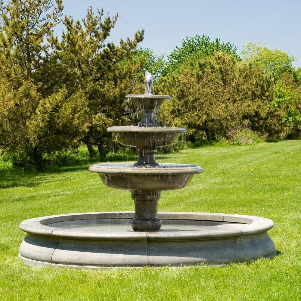 outdoor garden fountains photo - 5