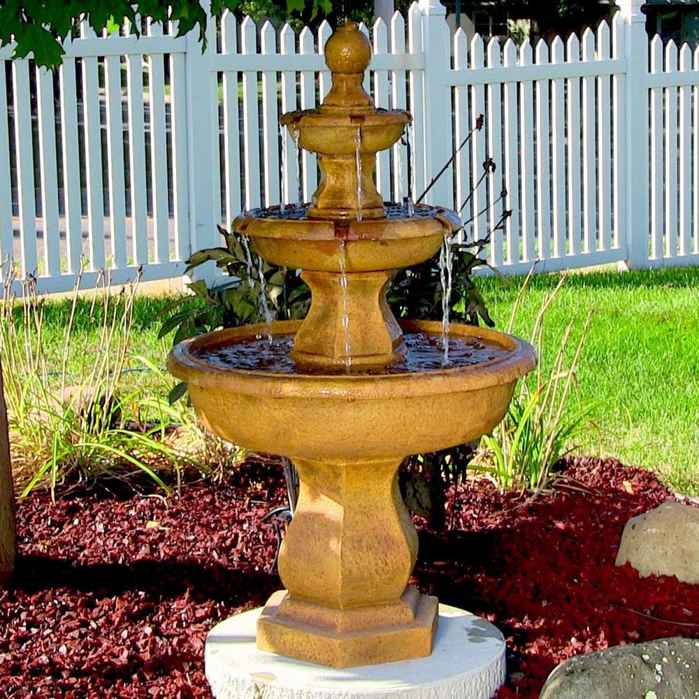 outdoor garden fountains photo - 8