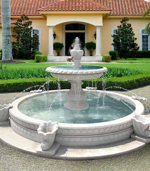 outdoor garden fountains ideas photo - 10