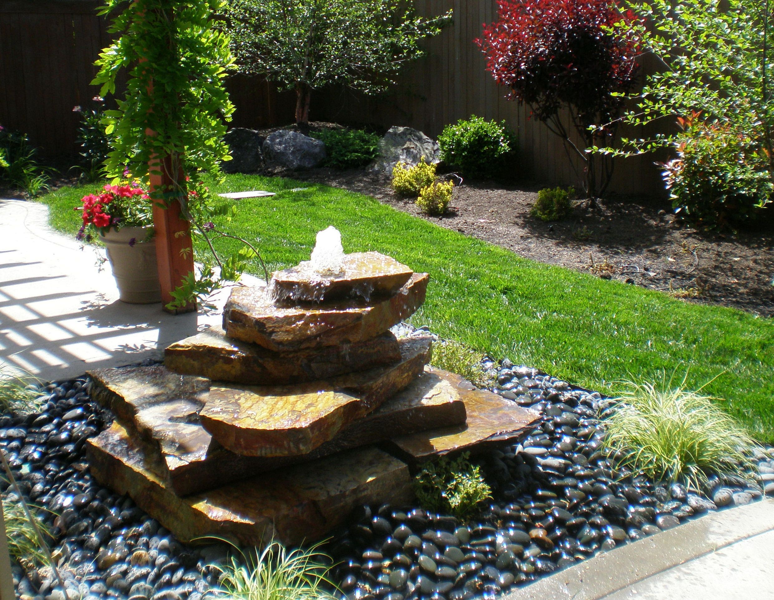 outdoor garden fountains ideas photo - 5