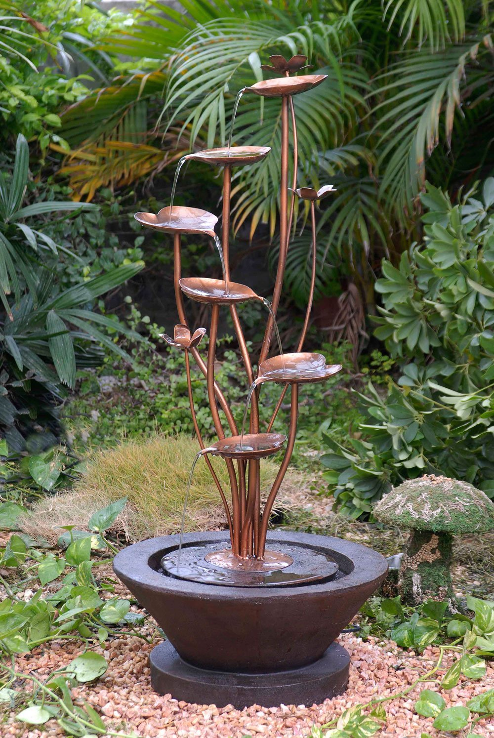 outdoor garden fountains ideas photo - 6