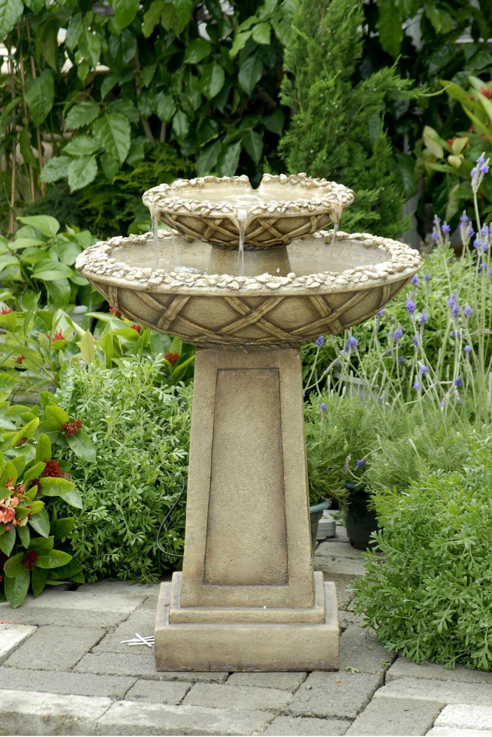 outdoor garden fountains ideas photo - 7