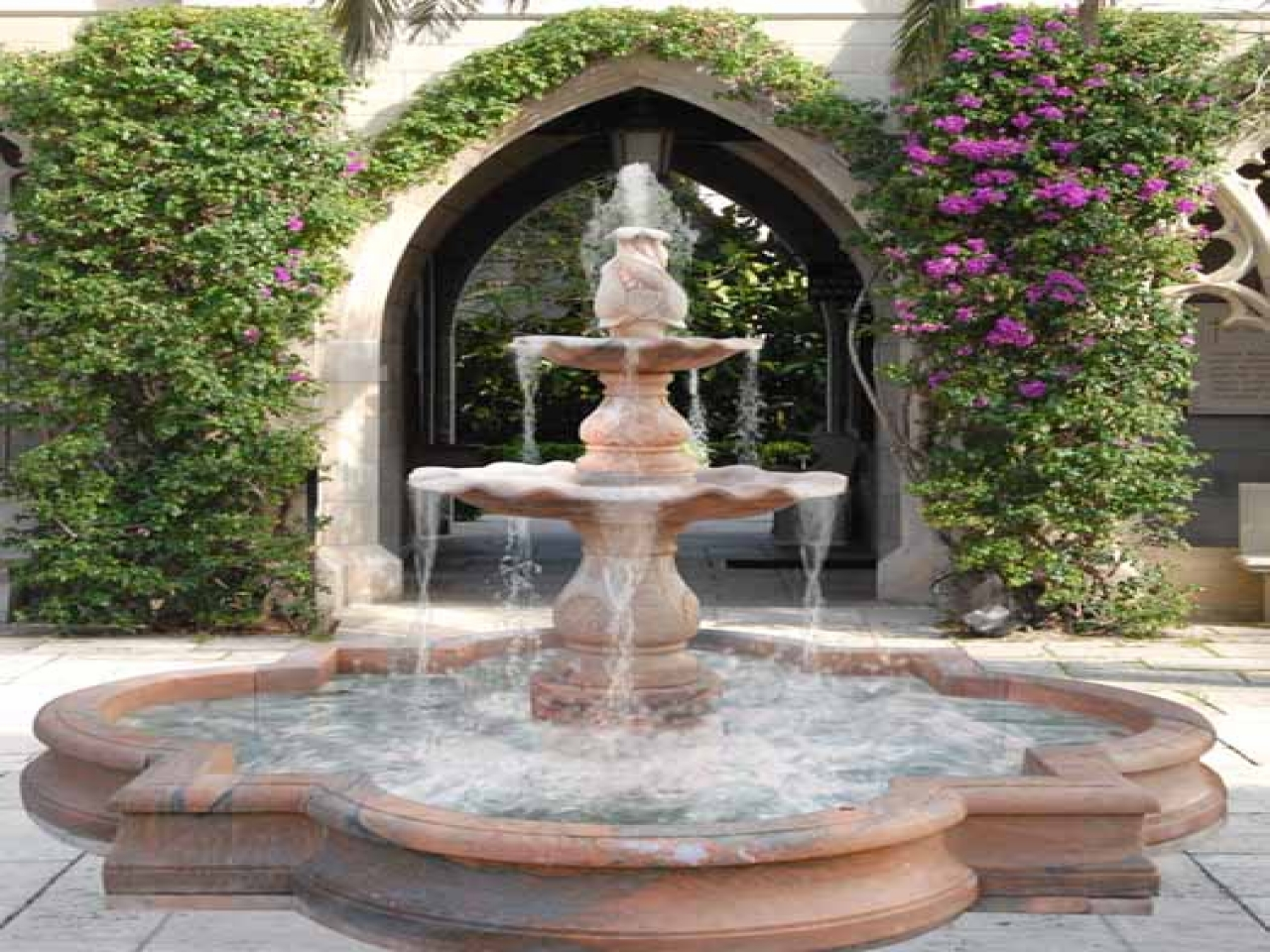 outdoor garden fountains ideas photo - 8