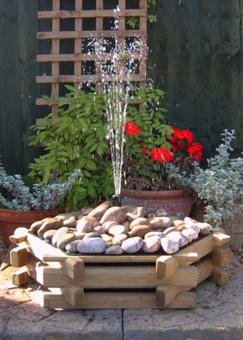 outdoor garden fountains ideas photo - 9