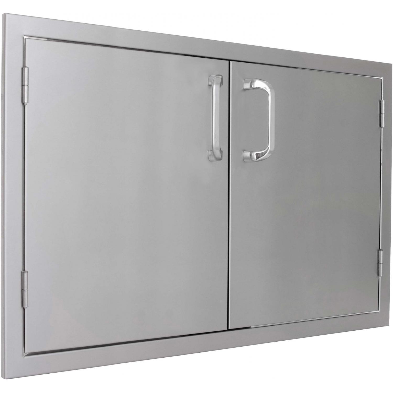 outdoor kitchen access doors photo - 10