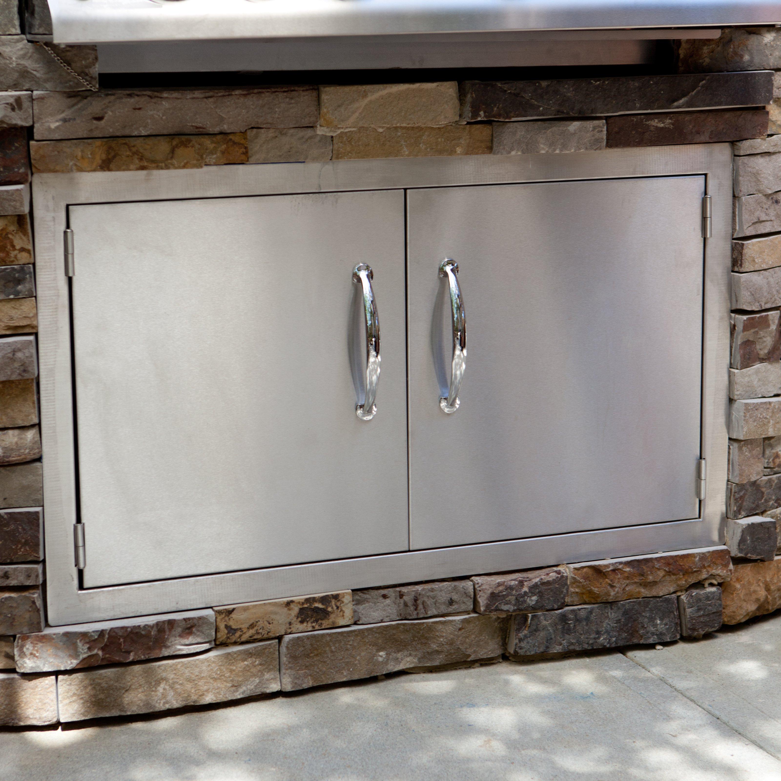 outdoor kitchen access doors photo - 9