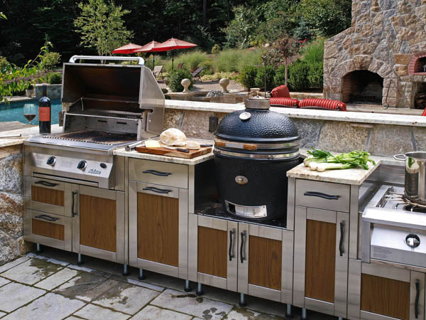 outdoor kitchen appliances photo - 10