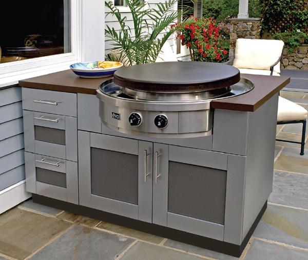outdoor kitchen appliances photo - 2