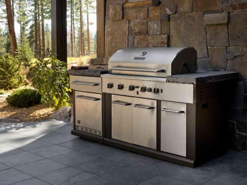 outdoor kitchen appliances photo - 3