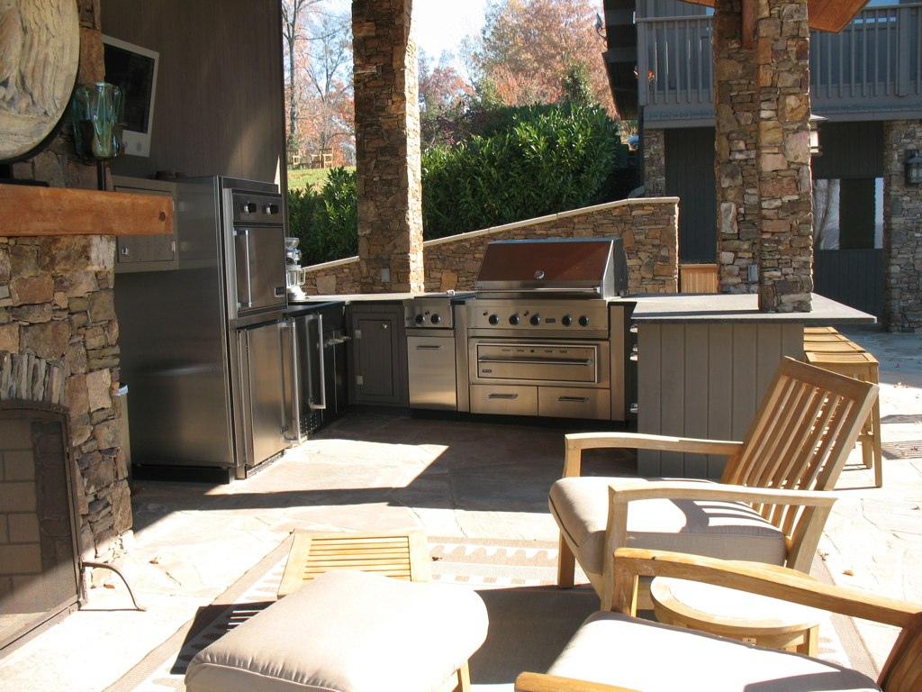 outdoor kitchen appliances photo - 6