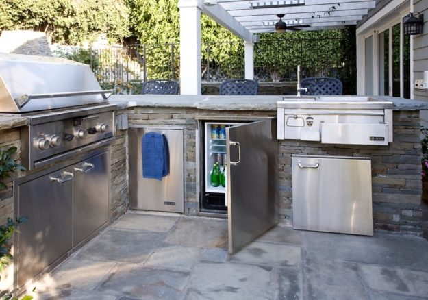 outdoor kitchen appliances photo - 9