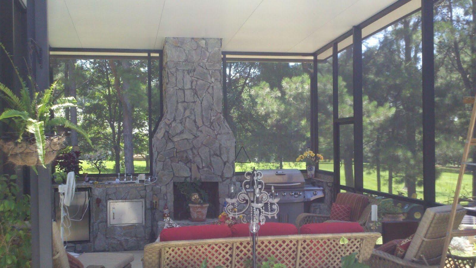 outdoor kitchen enclosures photo - 10
