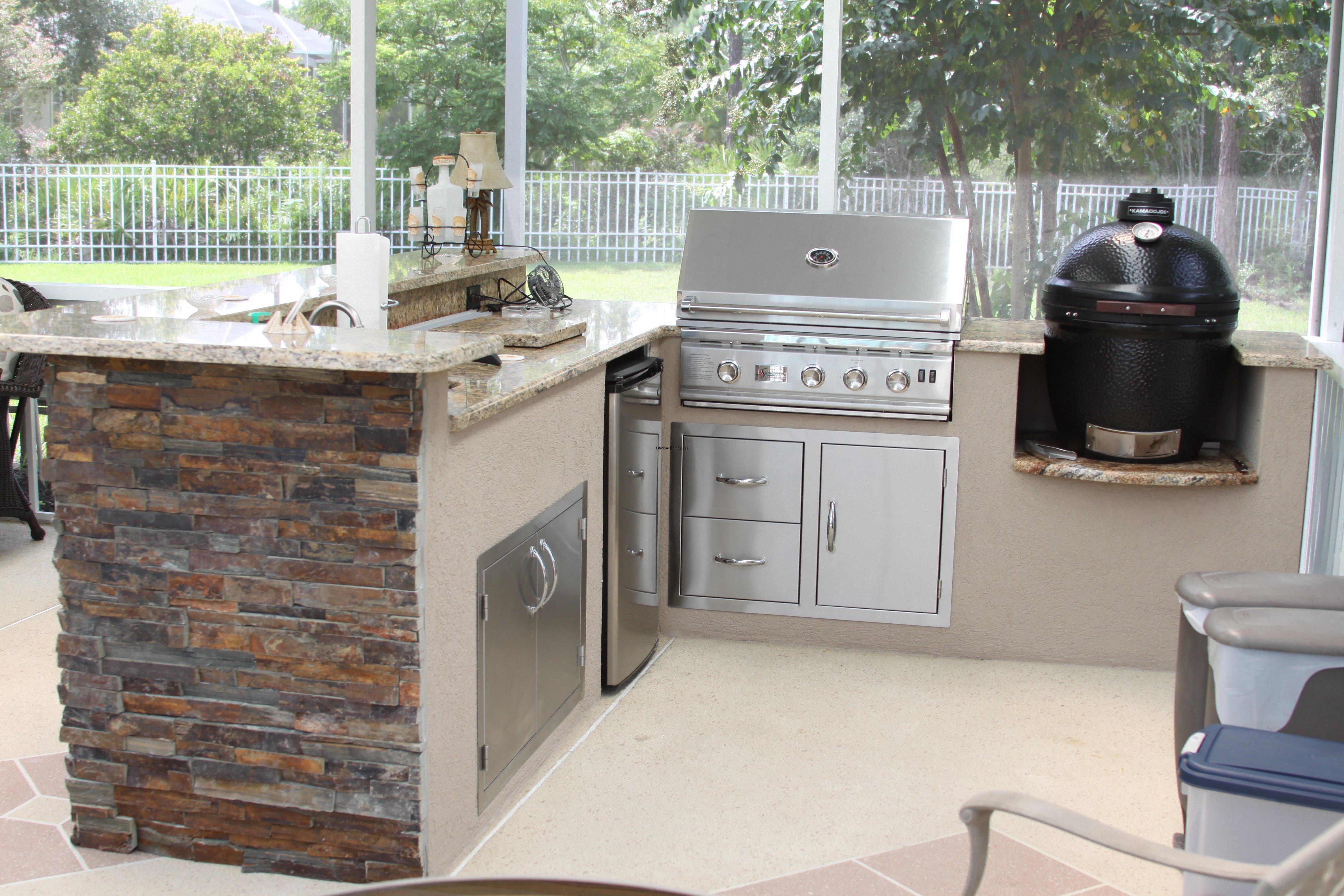 outdoor kitchen enclosures photo - 3