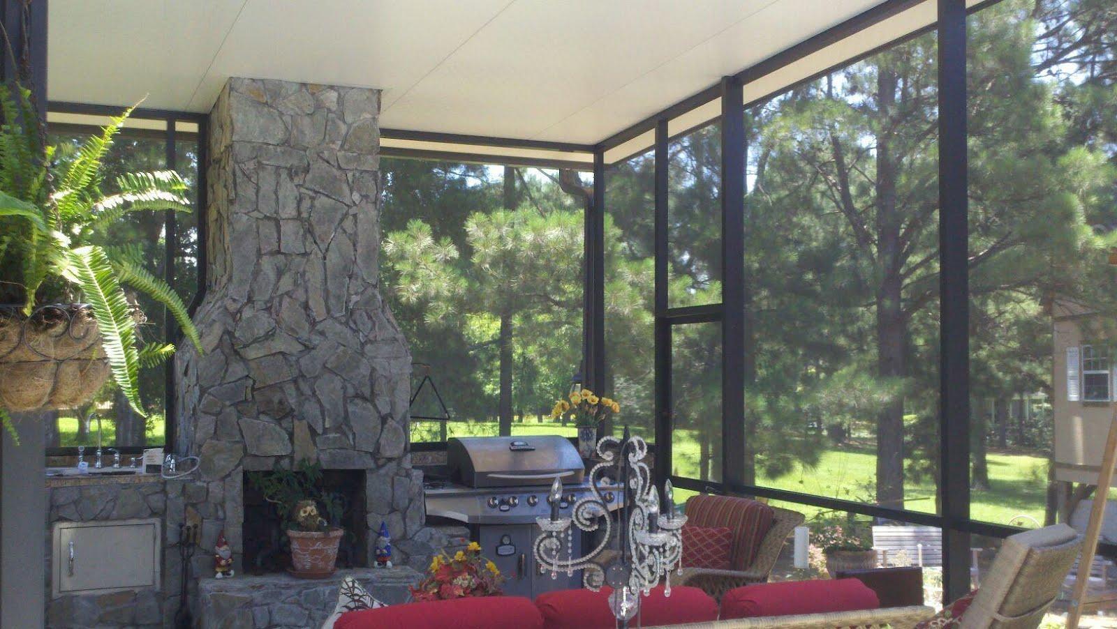 outdoor kitchen enclosures photo - 4