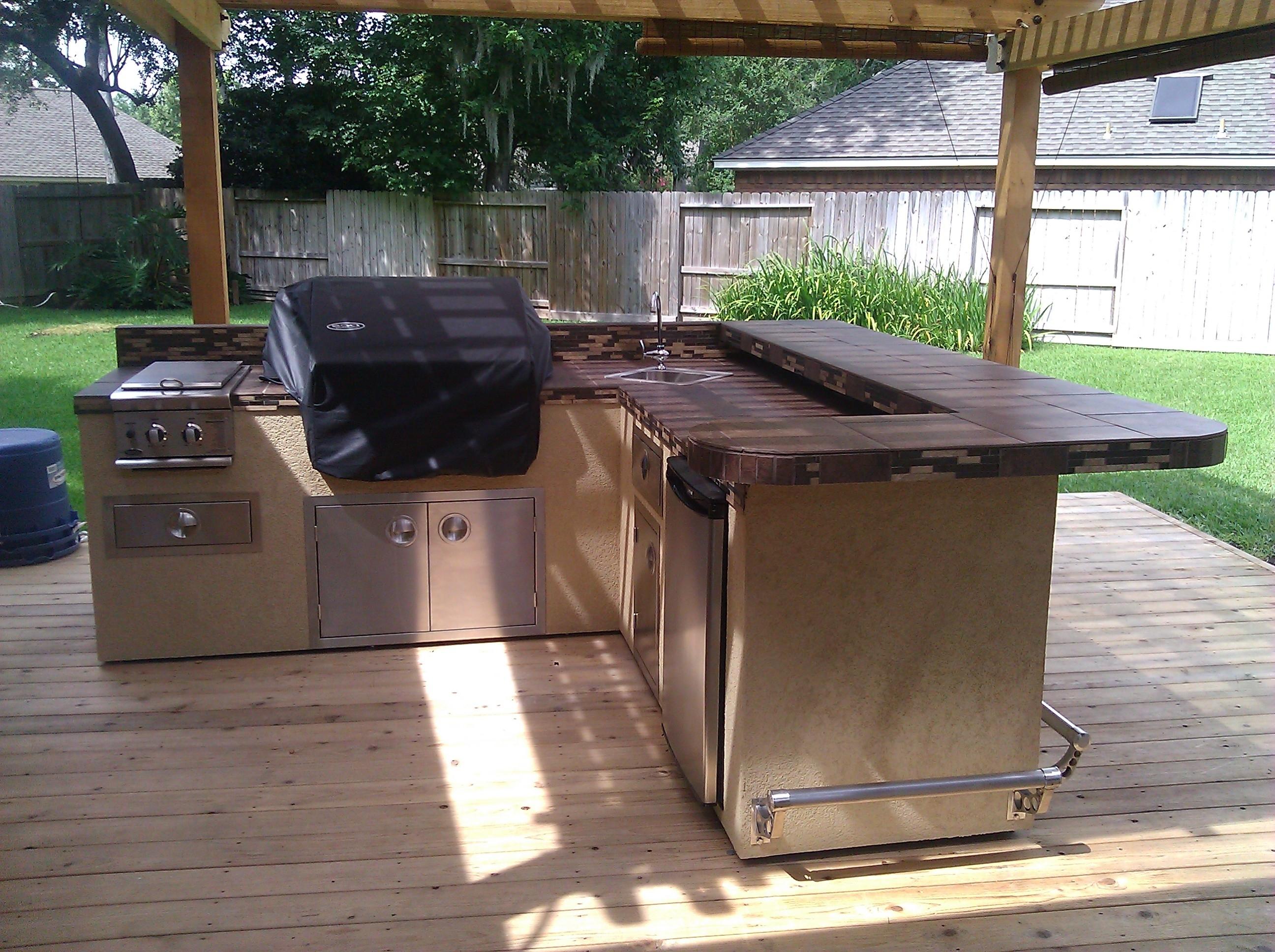 outdoor kitchen equipment photo - 2