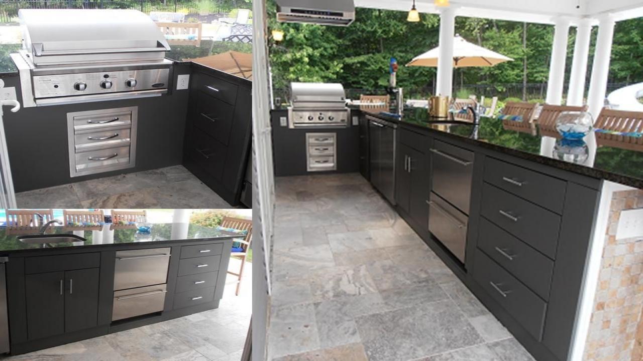 outdoor kitchen equipment photo - 3