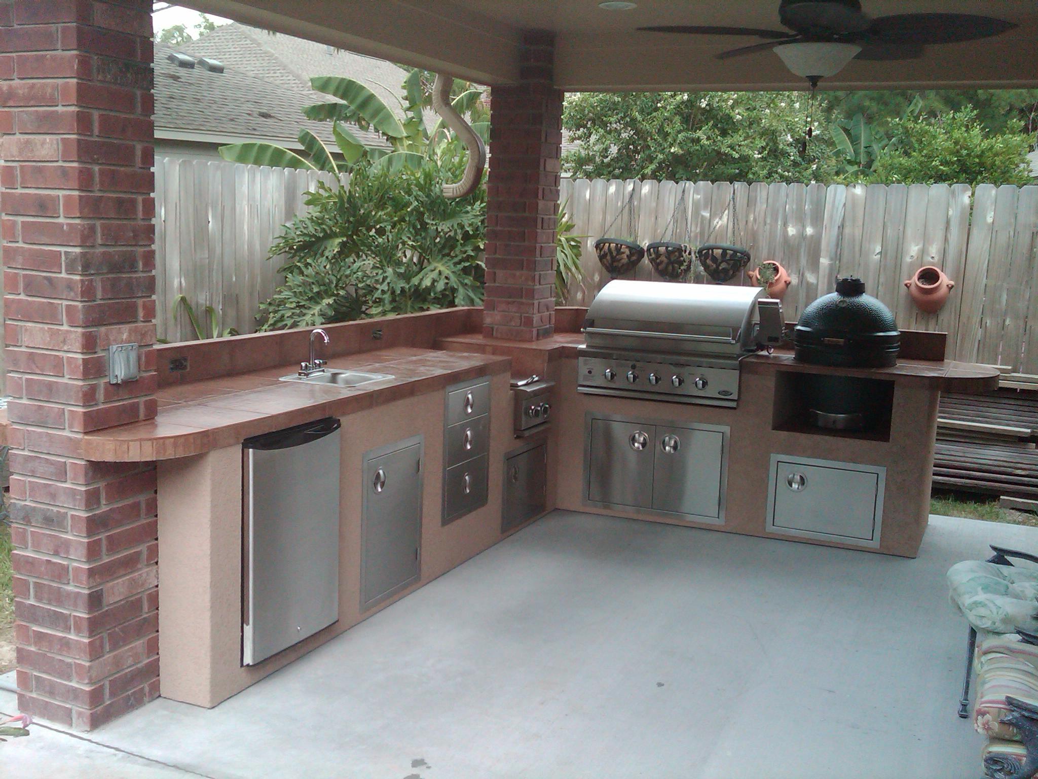 outdoor kitchen equipment photo - 5
