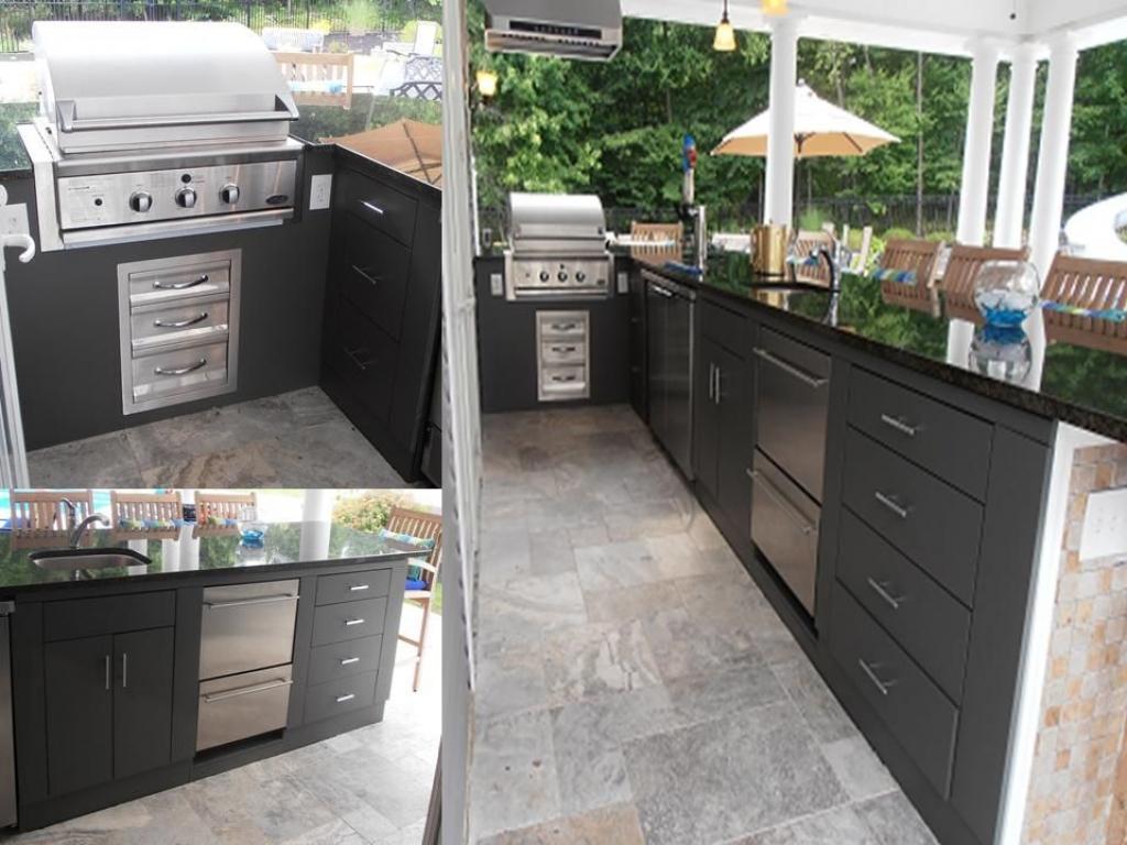outdoor kitchen equipment photo - 6