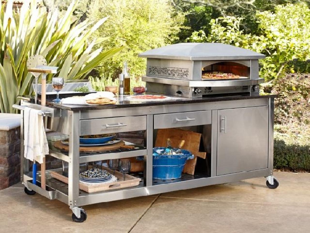 outdoor kitchen equipment photo - 8