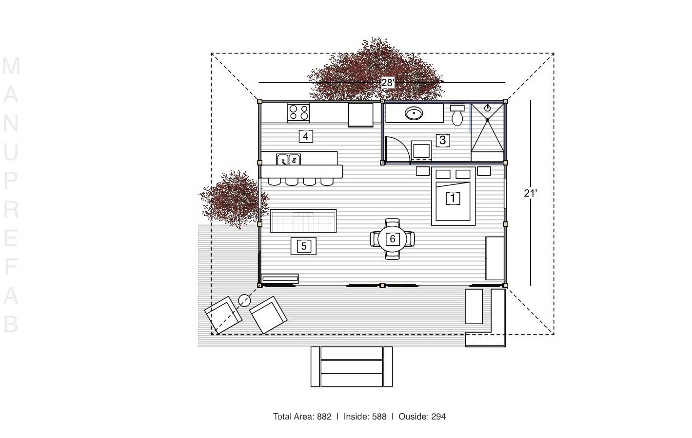 Outdoor Kitchen Floor Plans Hawk Haven