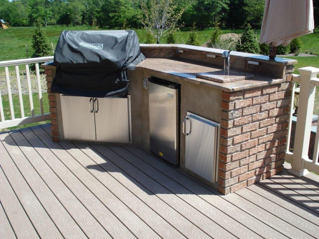 outdoor kitchen frame kit photo - 3