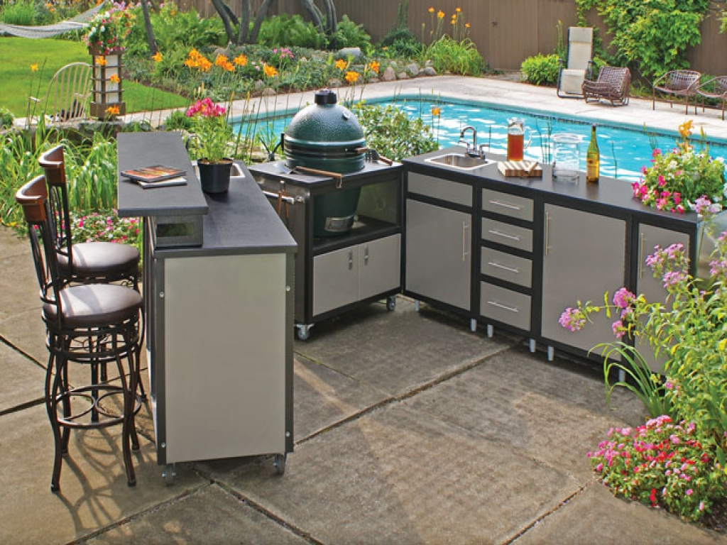outdoor kitchen frame kit photo - 5