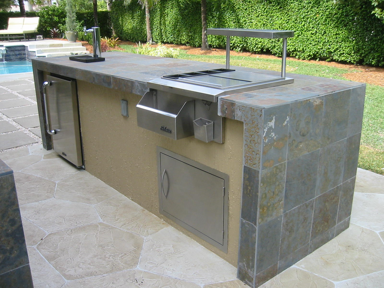 outdoor kitchen frame kit photo - 7