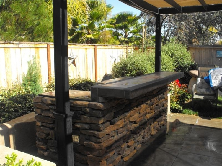 outdoor kitchen frame kit photo - 8
