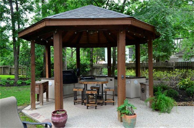 outdoor kitchen gazebo photo - 10