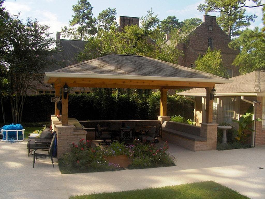 outdoor kitchen gazebo photo - 5