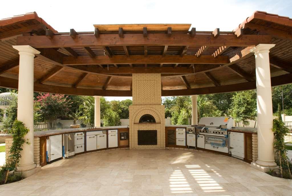 outdoor kitchen gazebo photo - 6