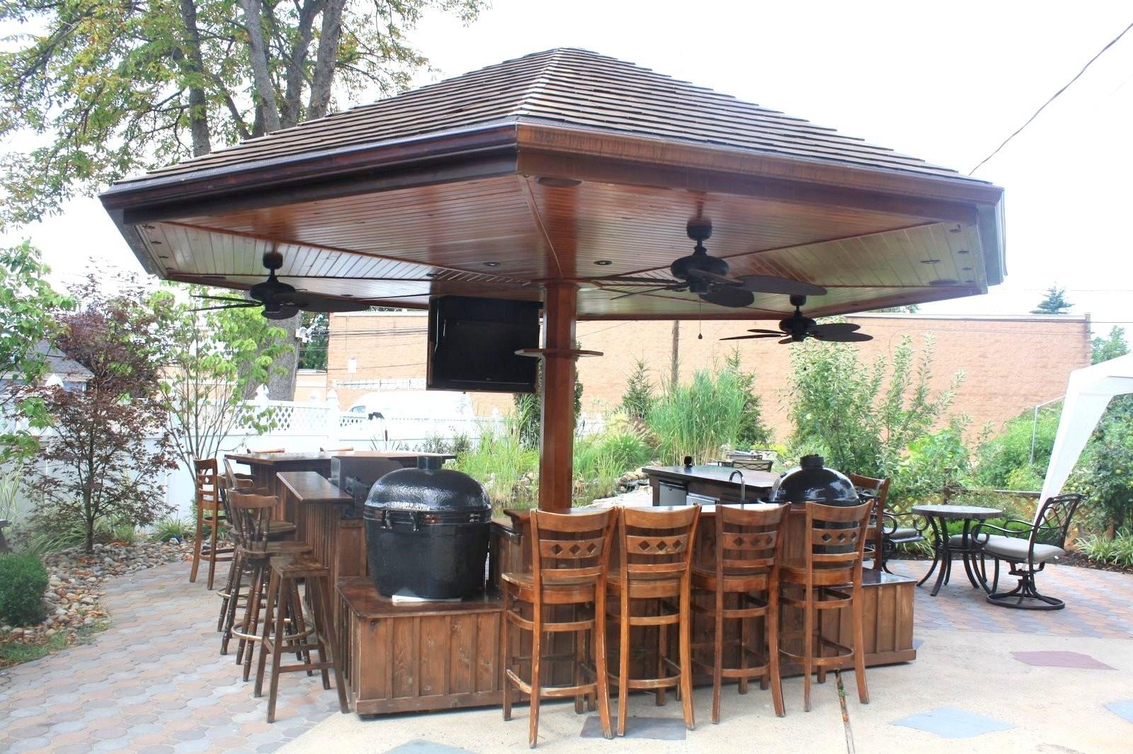 outdoor kitchen gazebo photo - 9