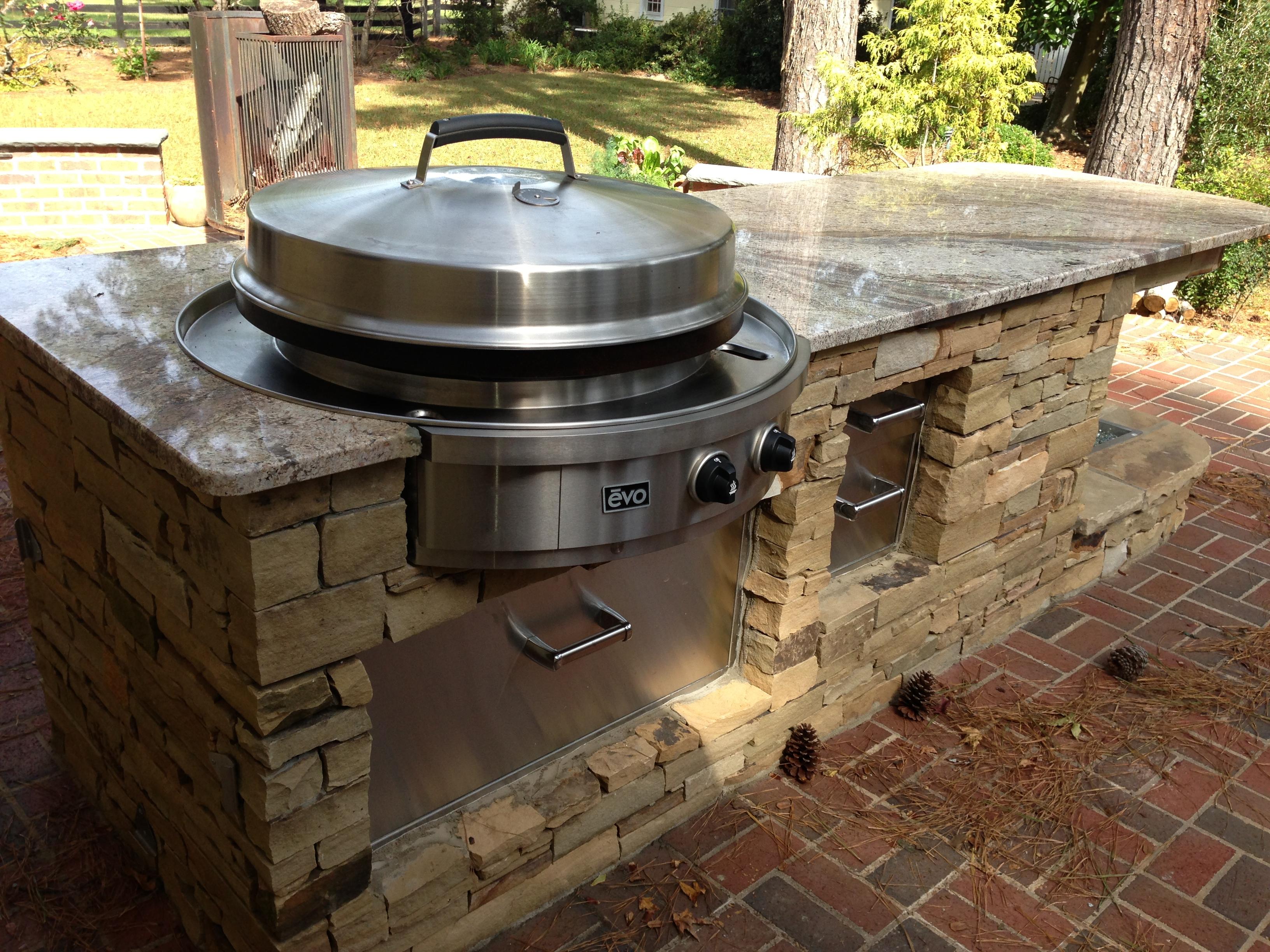 outdoor kitchen grills photo - 10