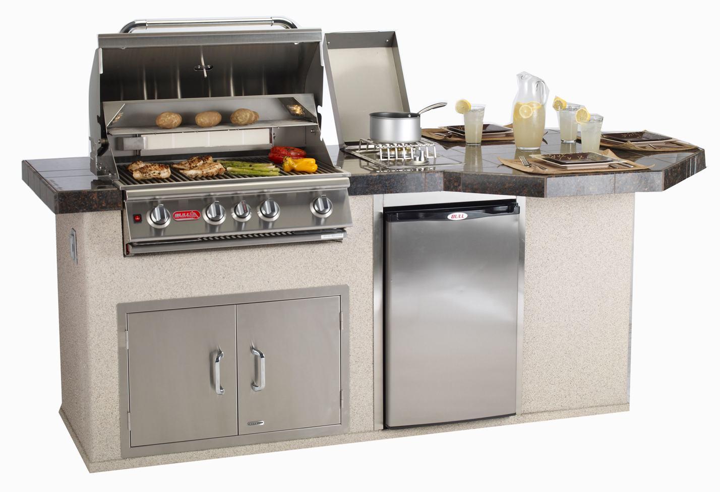 outdoor kitchen grills photo - 3
