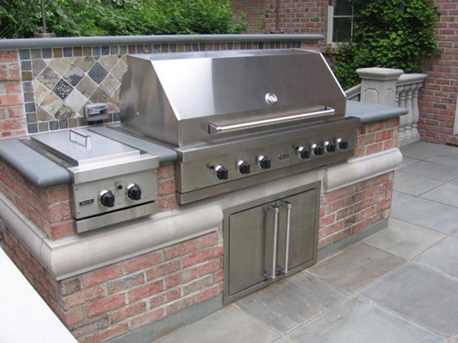 outdoor kitchen grills photo - 4