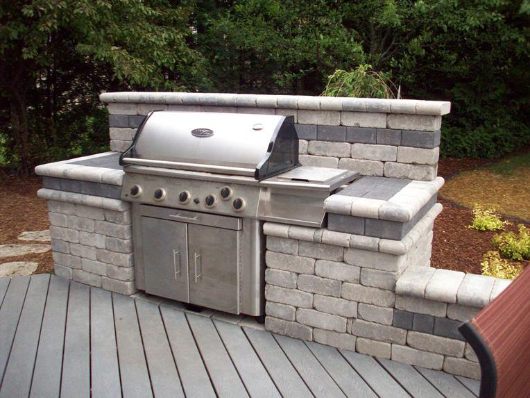 outdoor kitchen grills photo - 5