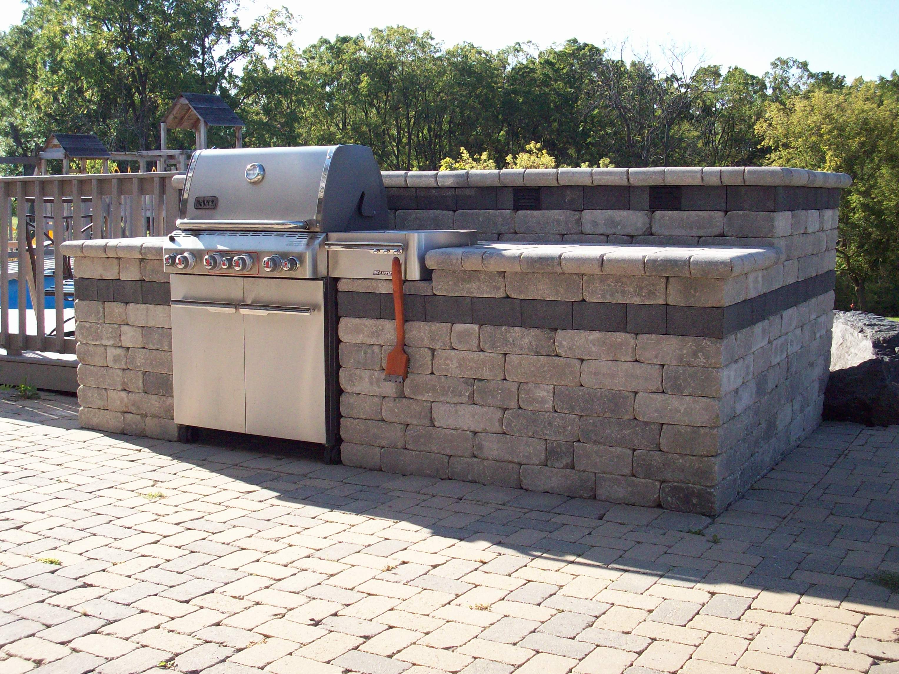 outdoor kitchen grills photo - 7